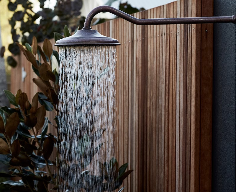 28 Degrees Byron Bay outdoor shower