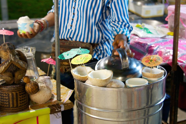 Coconut ice cream markets