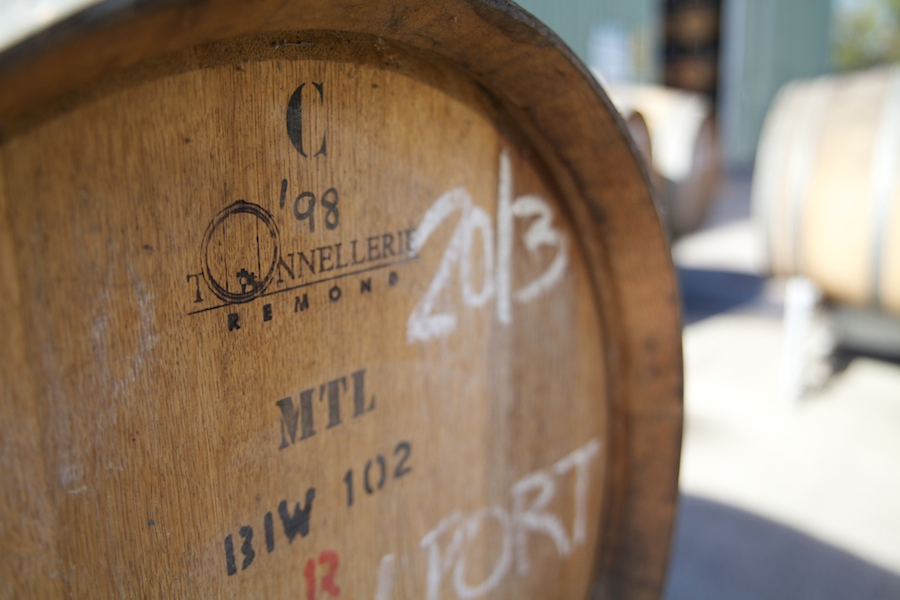 Barrel room First Creek Wines, Hunter Valley travel guide