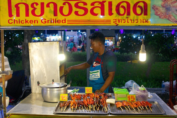 Best night market in Koh Samui.