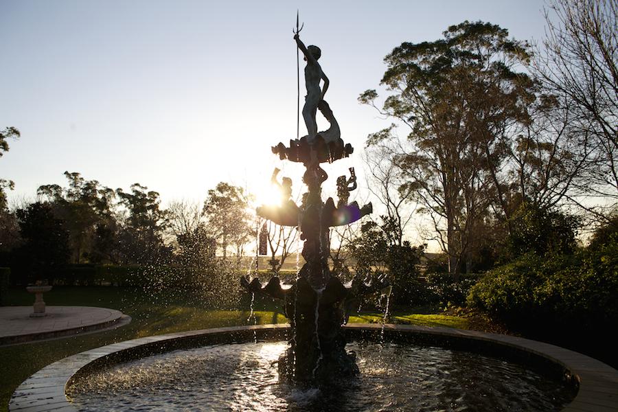 Hunter Valley Gardens fountain Pokolbin.
