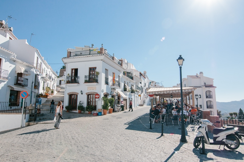 Airbnb accommodation in Frigiliana.