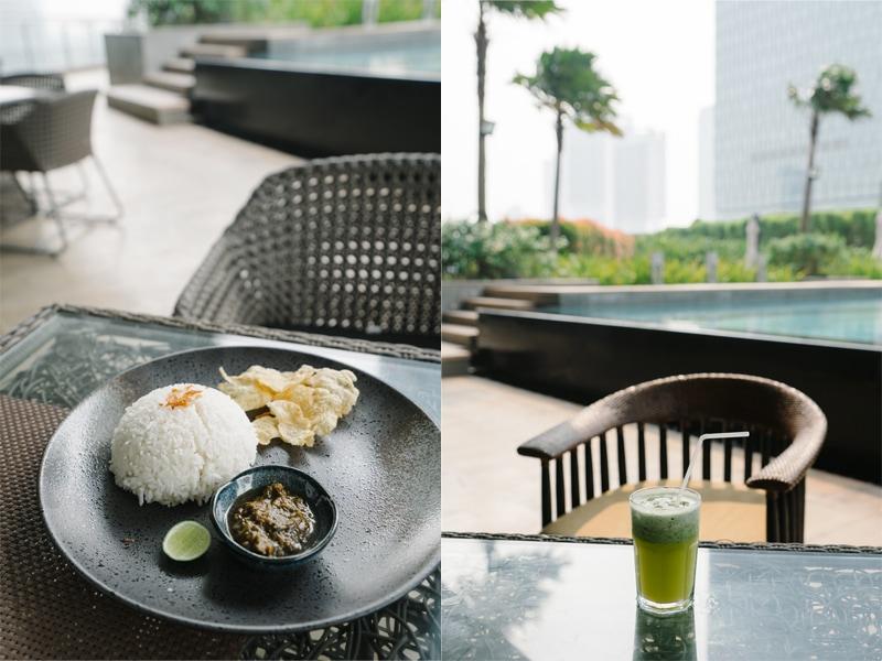 Ascott Kuningan Jakarta food