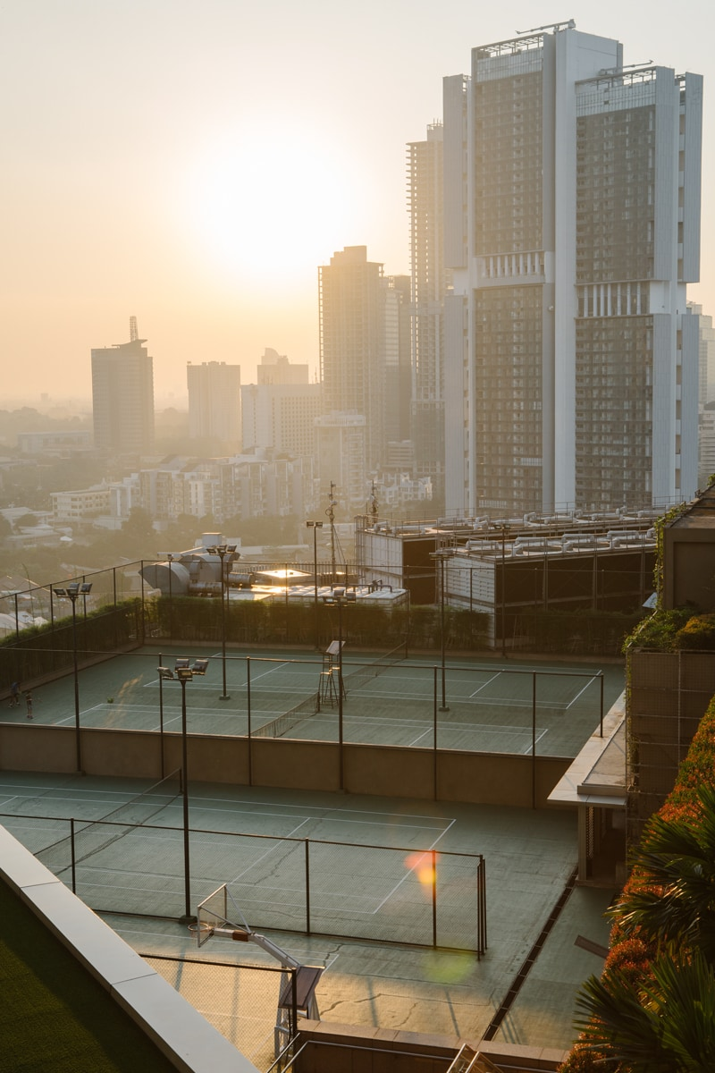 Ascott Kuningan Jakarta tennis court