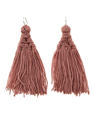 City Beach Tassel Earrings