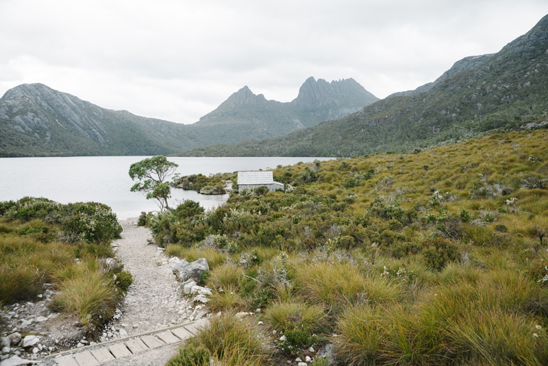 The Dove Lake Circuit at Cradle Mountain.