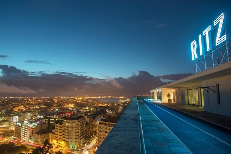 Four Seasons Lisbon Rooftop Track