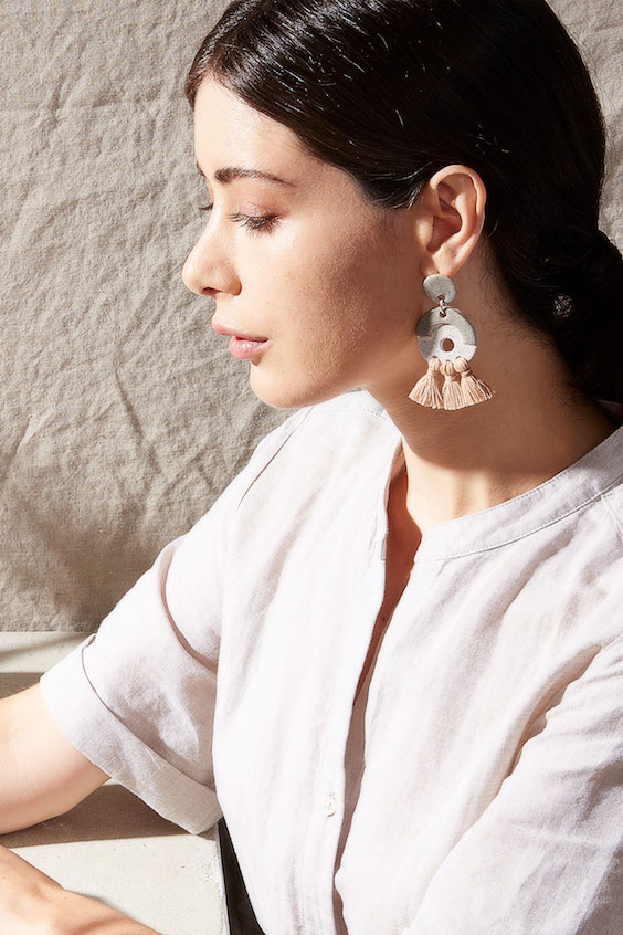 Gamma Folk Calliope Tassel Earrings