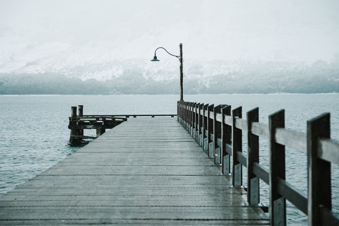 Glenorchy Jetty South Island New Zealand