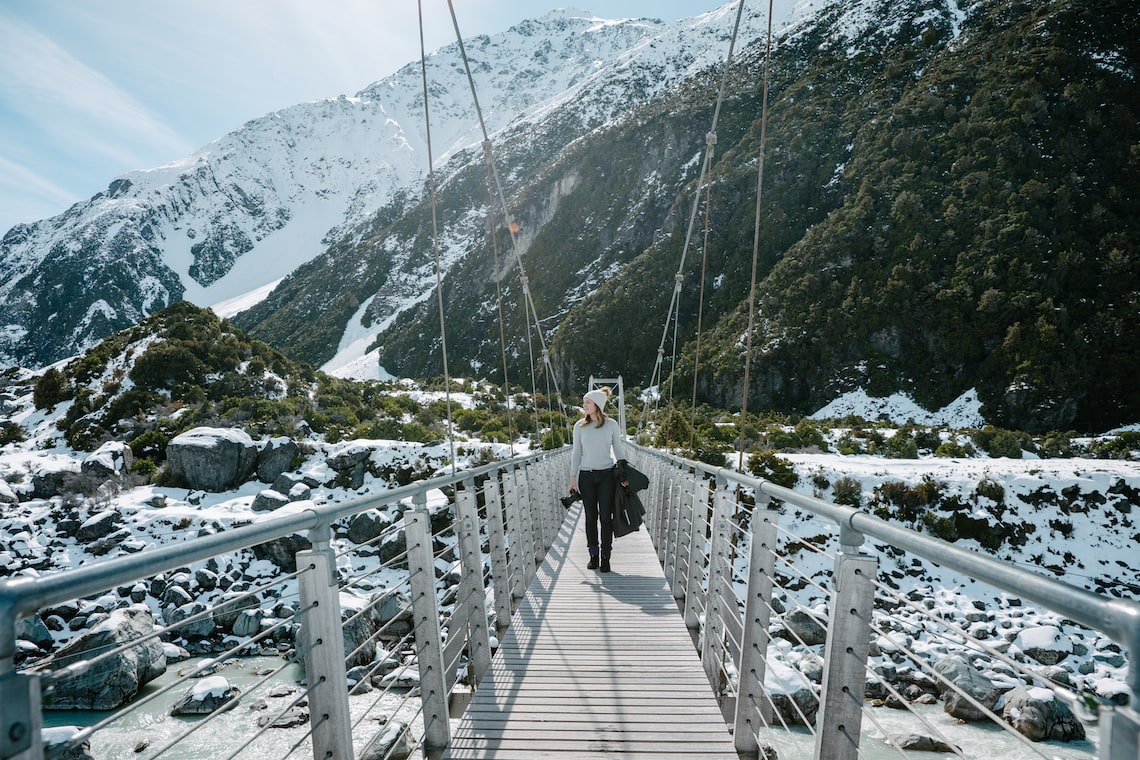 Hooker Valley Track Bridge