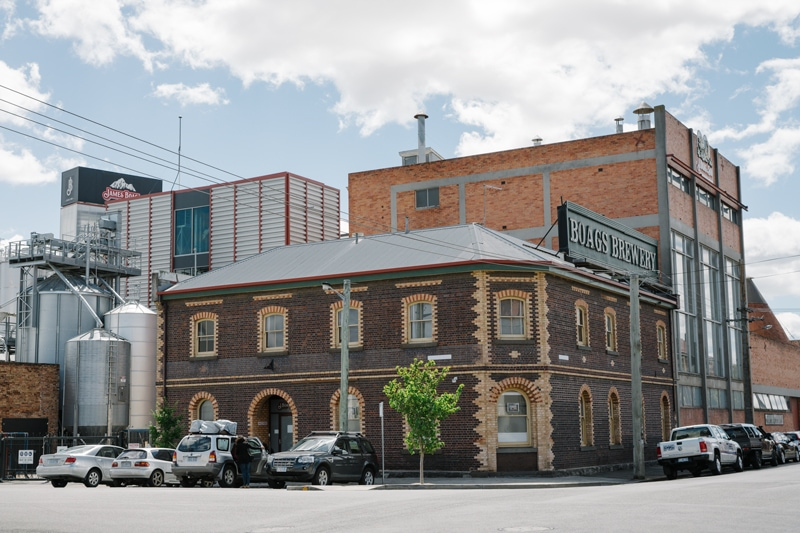 James Boags Brewery Launceston