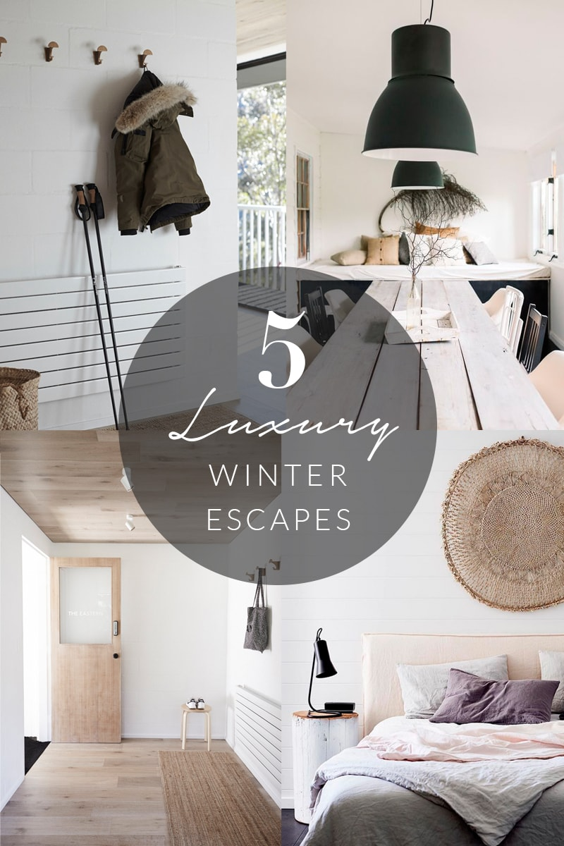 Luxury Winter Getaways Edit