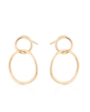 Mejuri loop earrings