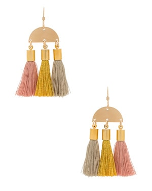 Mimi and Lu Tassel Earrings