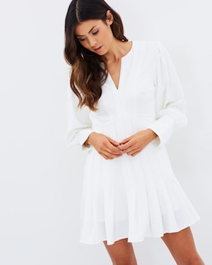 Mossman long sleeve dress