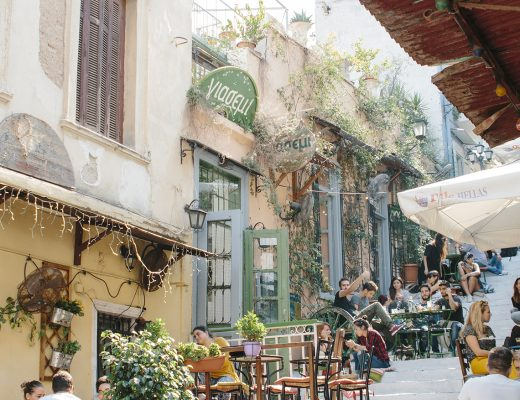 Plaka Athens travel blogger guide.