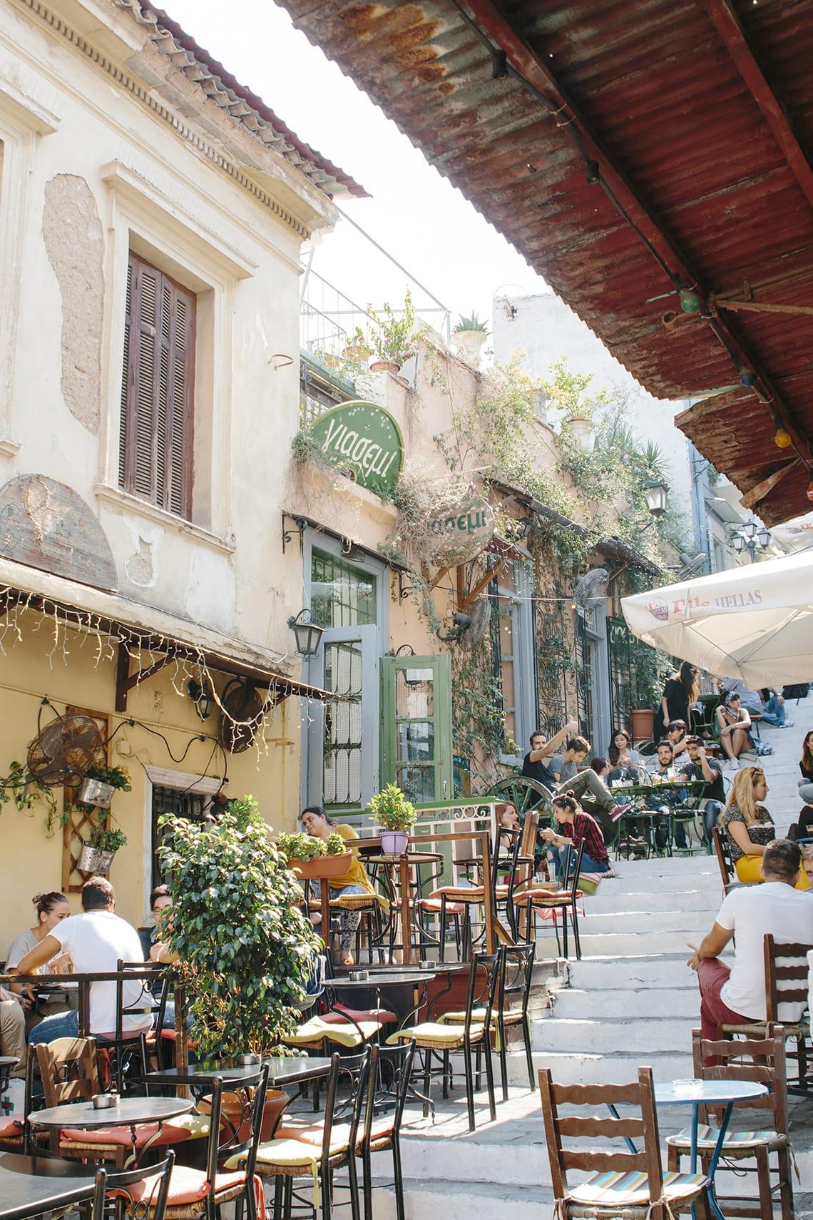Plaka Athens blogger guide
