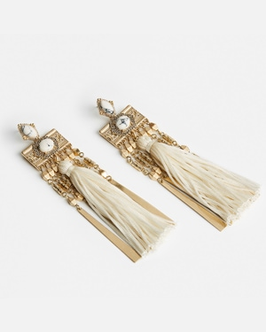 Samantha Wills tassel earrings