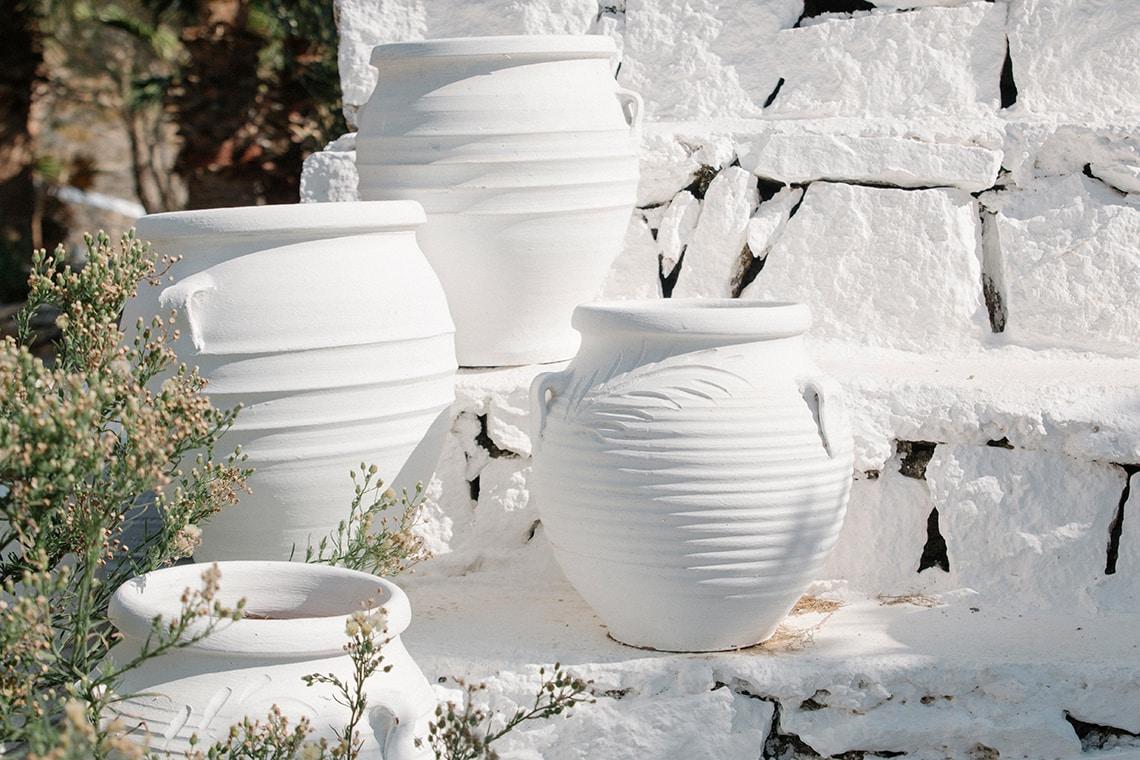 San Giorgio White Pots