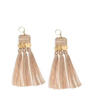 Shashi River Tassel Earrings