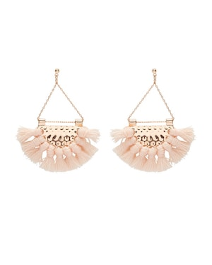 Sportsgirl Blush Tassel Earrings