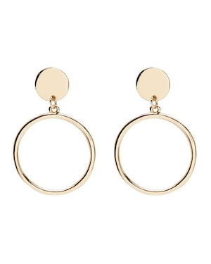 Sportsgirl circle earrings