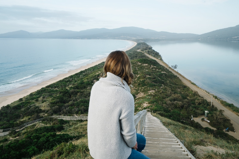 The Neck Lookout Bruny Island