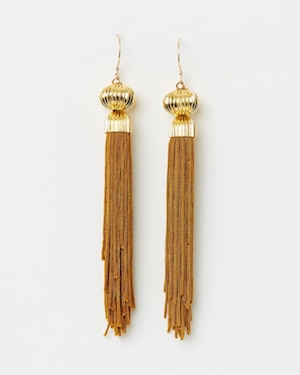 The Tasslrey Toffee Tassel Earrings