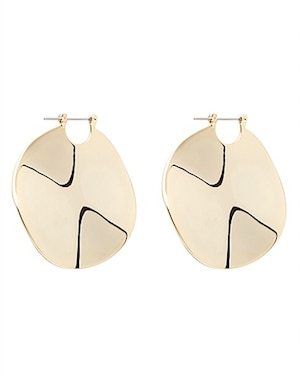 Witchery disc earrings