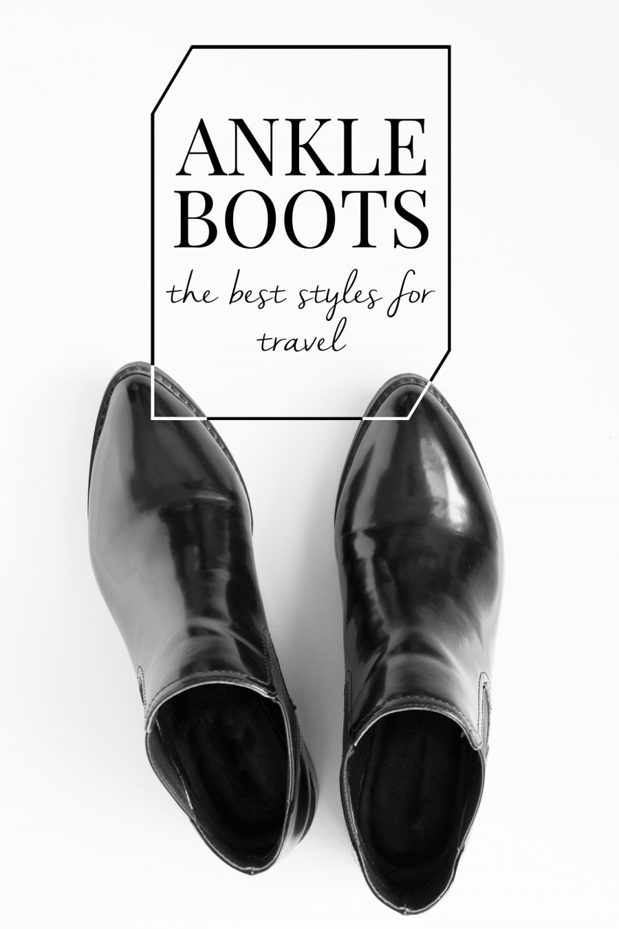 best ankle boots for travel.