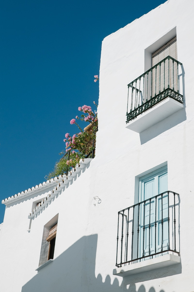Traditional Andalusian house in Frigiliana