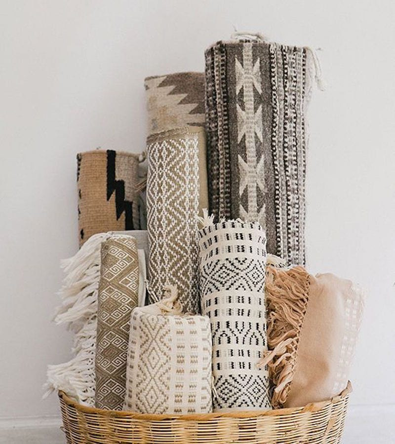 neutral aztec rugs
