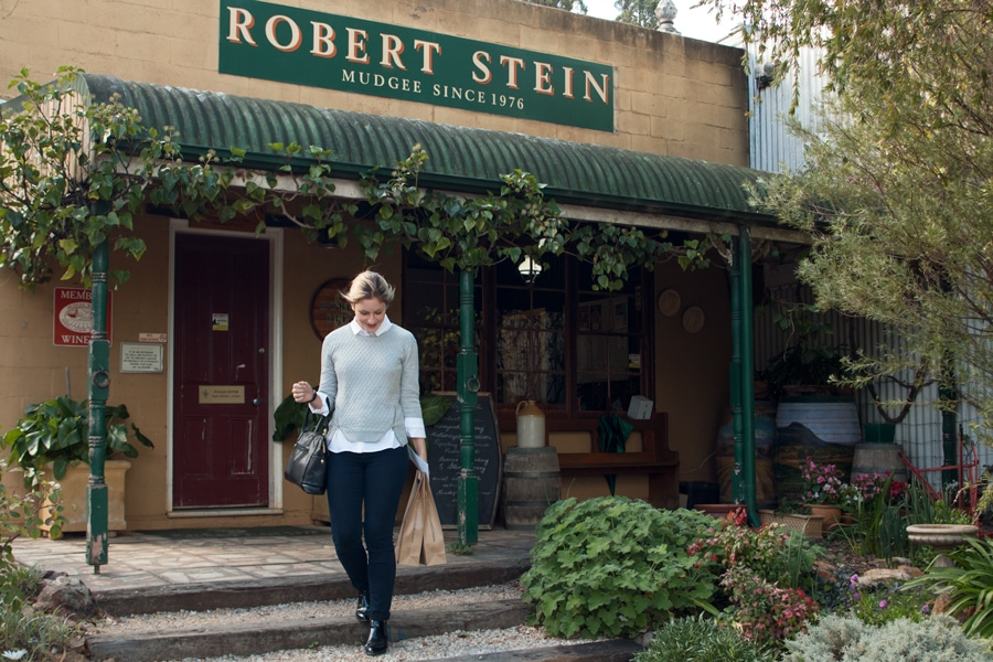 Robert Stein winery in Mudgee country New South Wales