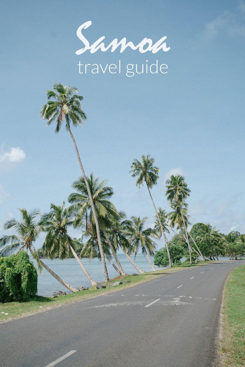 samoa travel guide
