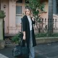 sleeveless turtleneck for travel