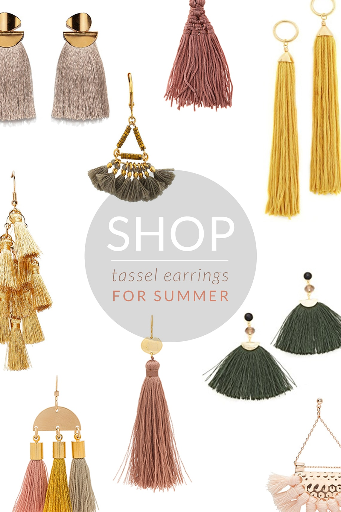 Tassel Earrings Shopping Edit