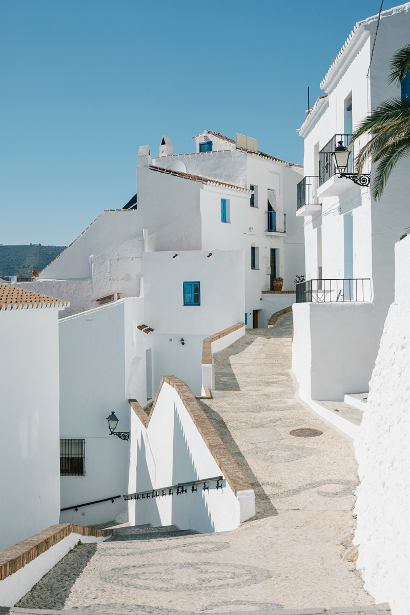 All white streets of Frigiliana