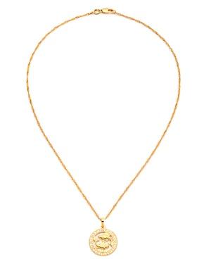 zodiac necklace Amber Sceats