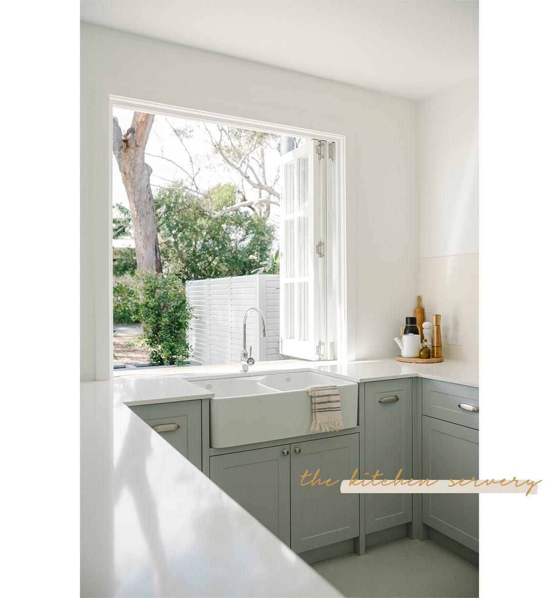 Salt Kitchen Servery Window